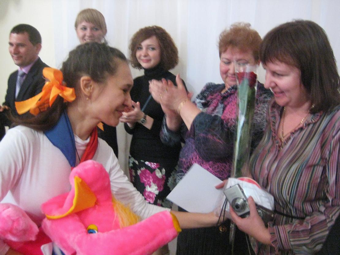 "Ирина Гуртовенко - победитель конкурса ""Лидер 2011"""